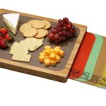 Cutting board set for RV