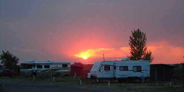 Grand View Campground   Closest full service campground to