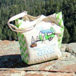 Camping for Foodies Reusable Grocery Bag