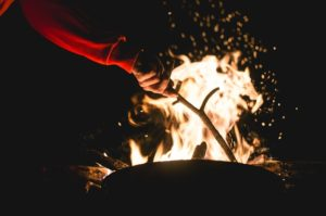 Starting a Campfire – Two Ways